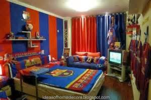 football bedrooms boy s football bedroom themed decoration ideas