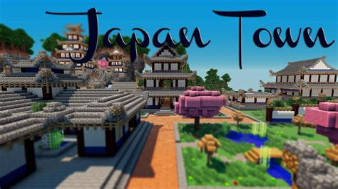 japanese town japan inspired town coming soon minecraft project