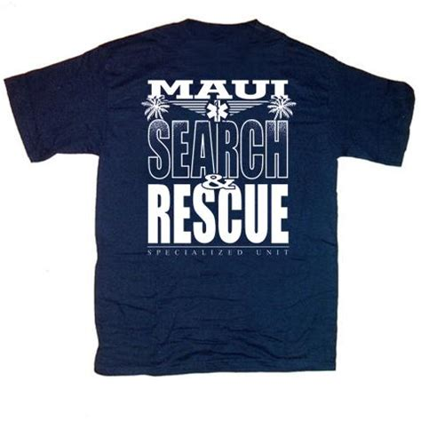 rescue shirts search and rescue t shirt size large ebay