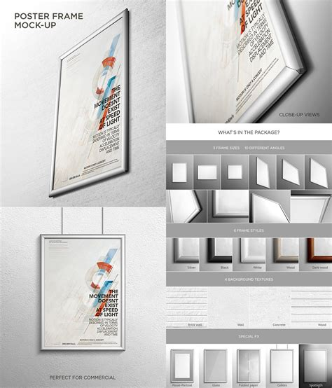 15 Photoshop Poster Mockup Templates For Your Creative Designs Mockup Templates For Photoshop
