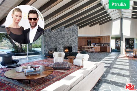 adam levine house glimpse the adam levine and behati prinsloo house in beverly hills celebrity