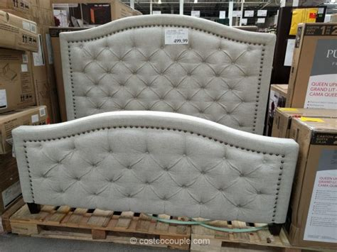 costco upholstered headboard pulaski furniture upholstered queen bed
