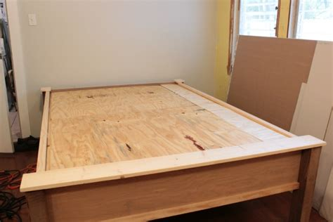 how to make a wood bed frame how to make a wood bed frame