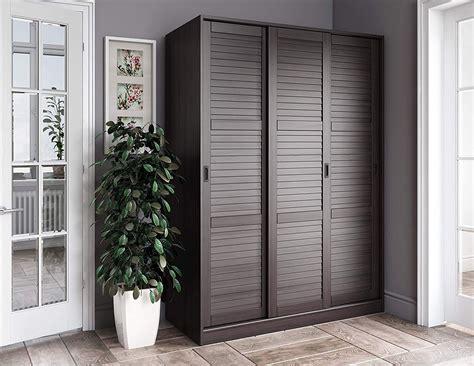 solid wood  sliding door wardrobearmoirecloset