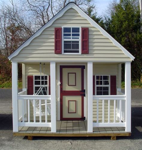 20 jolly ideas of luxurious outdoor playhouse
