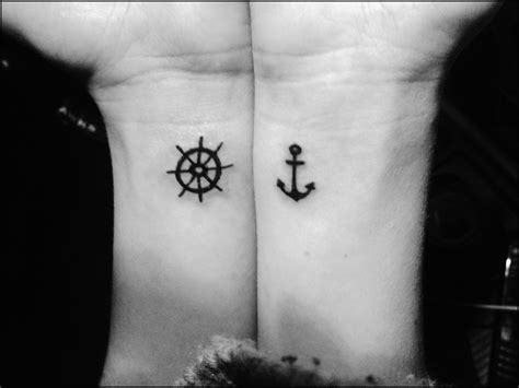 anchor down tattoo quot be the one to guide me but never hold me quot nautical