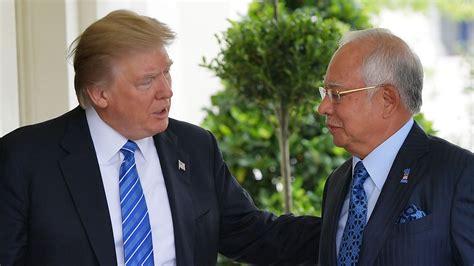 donald trump malaysia trump says north korea sanctions just the beginning