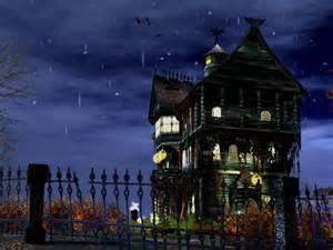 Bats In Backyard 3d Haunted Halloween Screensaver Download Halloween
