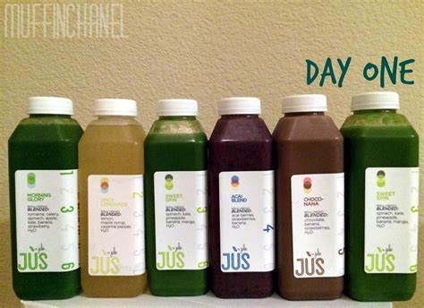 Jus Detox Review by Jus By Julie 3 Day Cleanse Review Muffinchanel