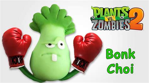 plants vs zombie en fomix plants vs zombies 2 bonk choi en porcelana plastilina