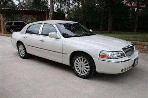how do i learn about cars 2005 lincoln town car seat position control buy used 2005 lincoln continental signature special edition 11 500 miles in fort worth texas