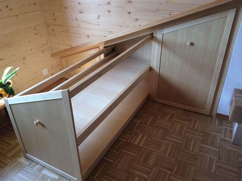 tiroirs sur mesure esprit bois table basse en sapin