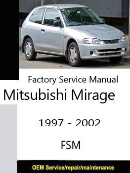 service manual manual repair autos 1997 mitsubishi mirage electronic toll collection service mitsubishi factory service repair manuals