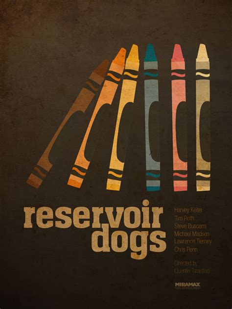 reservoir dogs poster alternative posters some of my favorites my filmviews