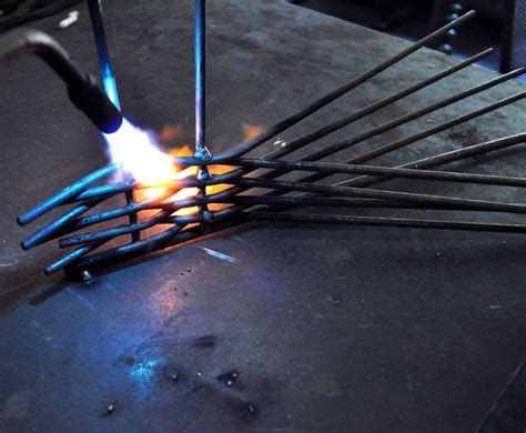 weaving pattern in welding weaving hot metal leslie tharp