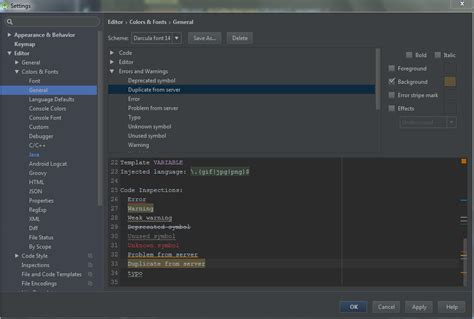 color themes android studio how to chage the highlighting color of asynktasks in