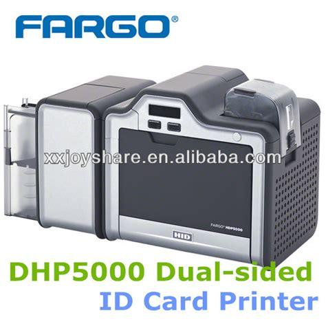 identity card machine fargo hdp5000 sides plastic pvc id card printer