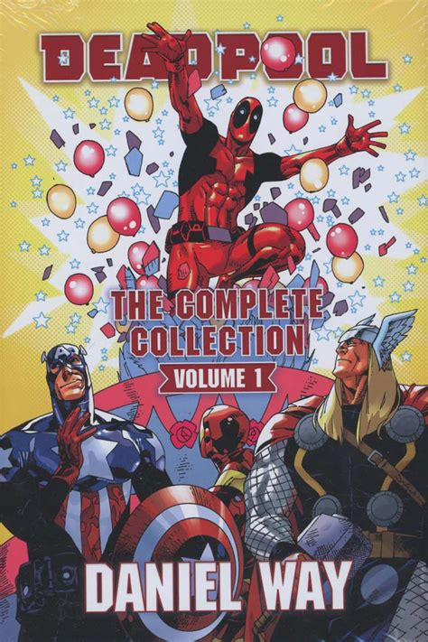 deadpool by daniel way 130291006x deadpool by daniel way the complete collection volume comic vine