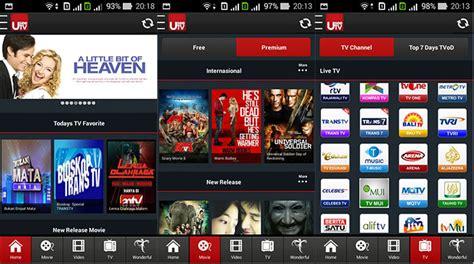 film gratis untuk android 5 aplikasi android gratis untuk streaming tv anime film