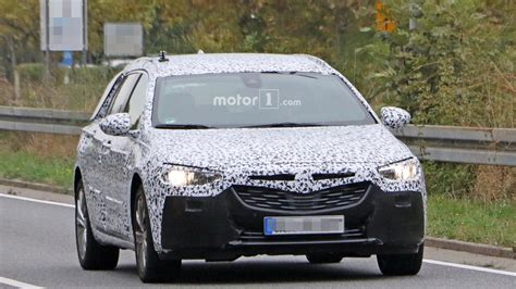 opel insignia 2017 wagon 2017 opel insignia wagon spied exhibiting jump in size