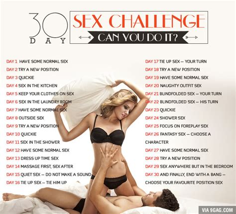 sexual challenges for your let s play a 9gag