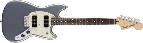 mustang guitar fender mustang 90 rosewood fingerboard silver