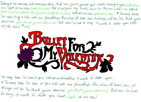 bullet for my 4 words to choke upon 4 words to choke upon lyrics by scuzzwalker on deviantart