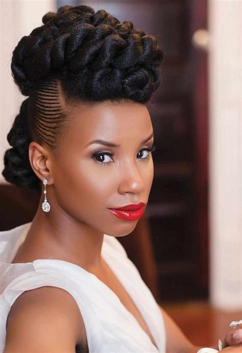 20  Black Women Wedding Hairstyles 2018   The latest and