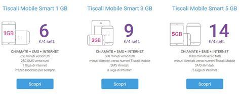 tiscali offerte mobile tiscali mobile nuove offerte tutto incluso da 6 pc