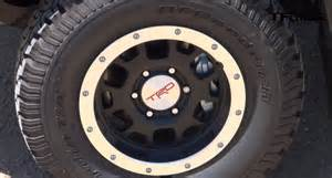 Toyota Trd Rims How Does The 2015 Toyota Tacoma Trd Pro Do At 0 60 Mph