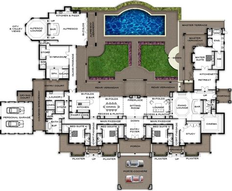 Home Plan Builder by Split Level Home Design Plans Perth View Plans Of This