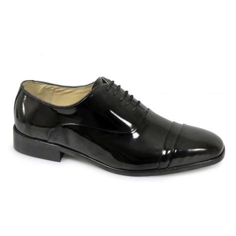 patent leather definition mens folded cap formal patent shoes by montecatini
