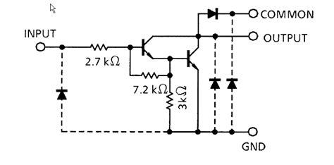 transistor darlington uln2803 led matrix darlington transistor array electrical engineering stack exchange