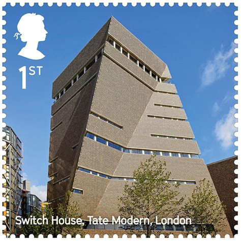 royal mail celebrates the uk s contemporary architecture with new sts