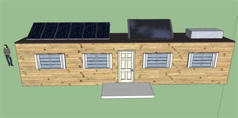 Self Sufficient Cabin Kits by Grid Cabin Kit Grid World