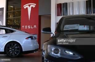Tesla Motors Quarterly Report Tesla Motors Foto E Immagini Stock Getty Images