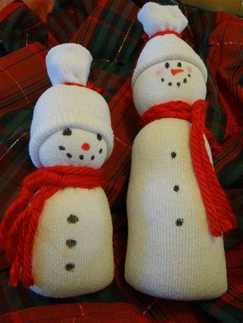 sock snowman tutorial easy sock snowman tutorial with sock snowman