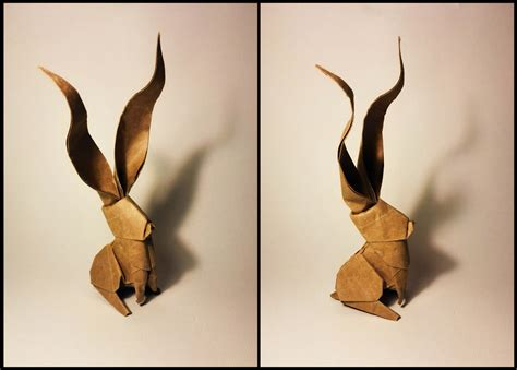 Origami Rabbit Ear - 23 wonderful origami woodland animals