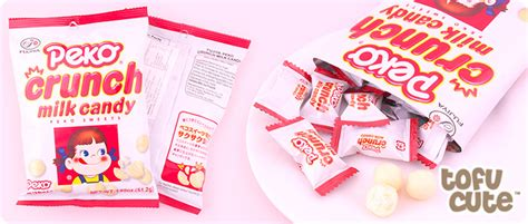 Fujiya Peko Crunch Milk Japan Permen Jepang buy fujiya peko crunch milk at tofu