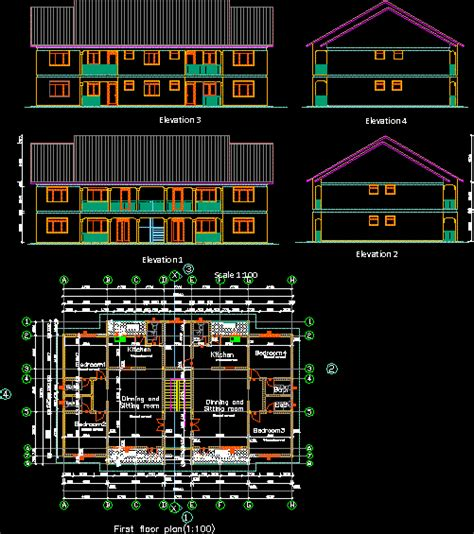working drawings dwg block  autocad designs cad
