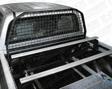 truck bed cross bars vw amarok business hold c channel load tie down system