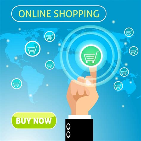 background online shop online shopping background design vector premium download