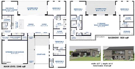 customized floor plans semi custom home plans 61custom modern home plans