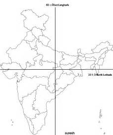 India Maps Outlines Blank by Maps Gurudeva