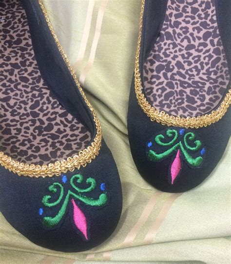 elsa frozen shoes for frozen embroidered elsa coronation shoes any size