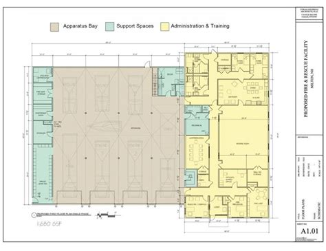 fire department floor plans fire station plan fire station pinterest architecture
