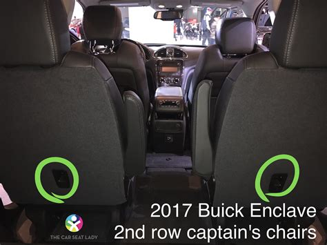 buick enclave second row bench seat the car seat lady buick enclave