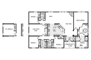 Triple Wide Modular Homes Floor Plans floor plans mobile homes manufactured homes floor plans modular home
