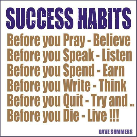Habits Quotes Quotesgram Quotes About Habits For Success Quotesgram