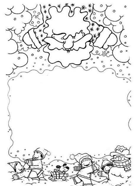 cornici natalizie da colorare natale biglietti disegni cornicette copertine cornicette